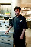 Bruno Otieza at his Biko Restaurant in Polanco Mexico City. Aromas y Sabores with Chef Patricia Quintana