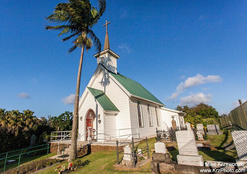 St. Augustine's Episcopal Church, Kapa'au, Big Island, Hawaii