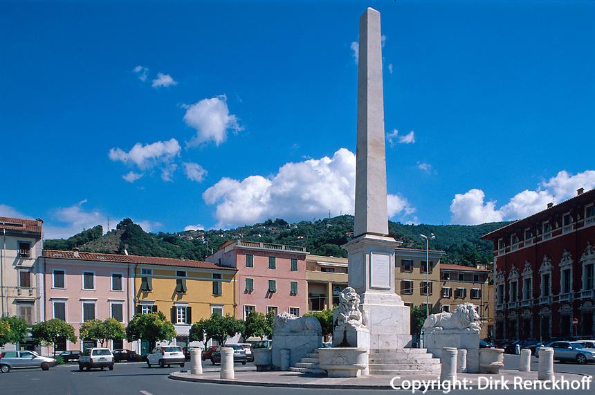 Italien, Toskana, Massa, Piazza Aranci