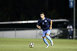 CARY, NC - OCTOBER 06: UNC's Mauricio Pineda. The University of North Carolina Tar Heels hosted the Wake Forest University Demon Deacons on October 6, 2017 at Koka Booth Field at WakeMed Soccer Park in Cary, NC in a Division I college soccer game.