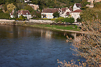 Europe/France/Aquitaine/24/Dordogne/Limeuil: Le village sur les bords de la dordogne