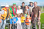 BOAT: The pierse clan from Listowel who took part in the Ballyheigue Summer Festival Sunday parade,  Front l-r: Seamus Lucey, Saoirse Pierse, Relibi?n Pierse, Nola Leen, Oisi?n Pierse and Hannah Mai Lucey. Back l-r: George Leen, Seai Pierse, Olive Pierse, Paul Pierse, Ailing O'Sullivan, Robert Pierse and Niall Lucey............