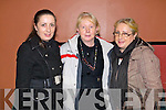 Michelle O'Donoghue, Mary Riordan and Anne O'Donoghue (Killarney)  pictured at St Johns bazaar, held in the KDYS on Saturday evening.