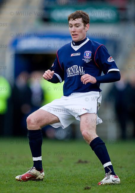 Paddy Cregg, Falkirk