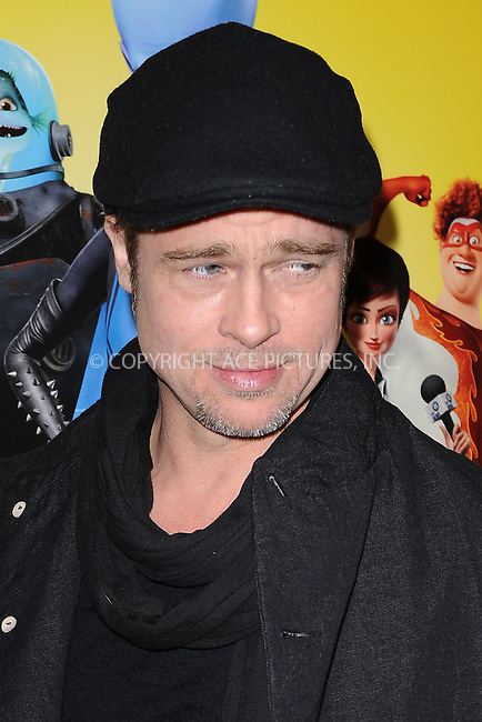 WWW.ACEPIXS.COM . . . . . .November 3, 2010...New York City... Brad Pitt attends the New York premiere of 'Megamind' at AMC Lincoln Square Theater on November 3, 2010 in New York City....Please byline: KRISTIN CALLAHAN - ACEPIXS.COM.. . . . . . ..Ace Pictures, Inc: ..tel: (212) 243 8787 or (646) 769 0430..e-mail: info@acepixs.com..web: http://www.acepixs.com .