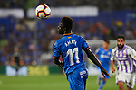 Getafe CF's Amath Ndiaye during La Liga match. August 31, 2018. (ALTERPHOTOS/A. Perez Meca)