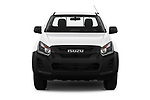 Car photography straight front view of a 2019 Isuzu D-Max LT 2 Door Pick-up Front View