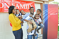 Bank of American donates house to Purple Heart Recipient in Houston, Texas