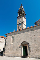 St Nicholas orthodox church, Perast, Bay of Kotor, Montenegro