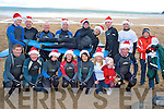 BALLYBUNION SURFERS: Member's of the Ballybunion Surf Club who braved the cold for their Christmas Surf in aid of Crumlin Children's Hospital at Ballybunion beach on Sunday.