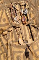 MALI , fetish of traditional healer in village Dialkoro / MALI , Fetische eines Medizinmann im Dorf Dialkoro