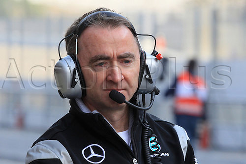 25.02.2016. Circuit de Catalunya, Barcelona, Spain. Day 4 of the Spring F1 testing and new car unvieling for 2016-17 season.  Mercedes AMG Petronas F1 Team - Paddy Lowe