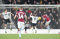 Aston Villa's John McGinn scores his sides first goal  <br /> <br /> Photographer Mick Walker/CameraSport<br /> <br /> The EFL Sky Bet Championship - Derby County v Aston Villa - Saturday 10th November 2018 - Pride Park - Derby<br /> <br /> World Copyright &copy; 2018 CameraSport. All rights reserved. 43 Linden Ave. Countesthorpe. Leicester. England. LE8 5PG - Tel: +44 (0) 116 277 4147 - admin@camerasport.com - www.camerasport.com