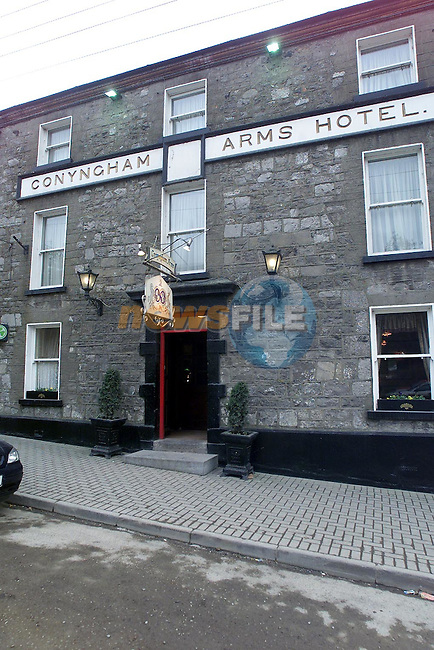 Conyngham Arms Hotel..Picture Paul Mohan Newsfile