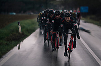 Team BMC taking control mid-race<br /> <br /> 12th Strade Bianche 2018<br /> Siena &gt; Siena: 184km (ITALY)