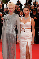 CANNES, FRANCE -  Selena Gomez and Tilda Swinton attend 'The Dead don't Die' premiere during the 72nd annual Cannes Film Festival on May 14, 2019 in Cannes, France.<br /> CAP/GOL<br /> &copy;GOL/Capital Pictures
