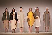 Collection by Hester Haywood from the University of Salford. Graduate Fashion Week 2014, Runway Show at the Old Truman Brewery in London, United Kingdom. Photo credit: Bettina Strenske