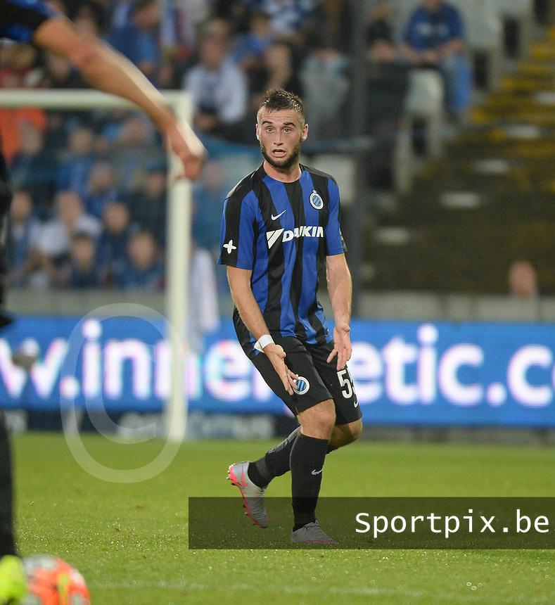 Club Brugge - KV Kortrijk : Tuur Dierckx<br /> Foto VDB / Bart Vandenbroucke