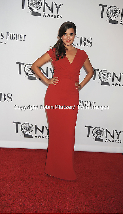 Cote de Pablo attends th 66th Annual Tony Awards on June 10, 2012 at The Beacon Theatre in New York City.