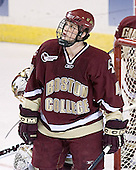 Mike Brennan - The Boston College Eagles defeated the Miami University Redhawks 5-0 in their Northeast Regional Semi-Final matchup on Friday, March 24, 2006, at the DCU Center in Worcester, MA.