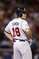 Johnny Damon of the USA during the World Baseball Championships at Angel Stadium in Anaheim,California on March 16, 2006. Photo by Larry Goren/Four Seam Images