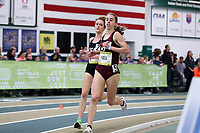 WINSTON-SALEM, NC - FEBRUARY 08: Sara Freix #5 of Virginia Tech runs in the Women's Camel City Elite 3000 Meters at JDL Fast Track on February 08, 2020 in Winston-Salem, North Carolina.