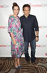 "Kristen Wiig and Ben Stiller at the ""20th Century FOX CinemaCon Photo Op""  held at  Caesar's Palace in Las Vegas, Nevada April 18, 2013"