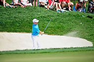 Bethesda, MD - June 29, 2014: Brendon Todd hits out of the sand on eleven during final round of play at the Quicken Loans National at Congressional Country Club in Bethesda MD. (Photo by Phillip Peters/Media Images International)