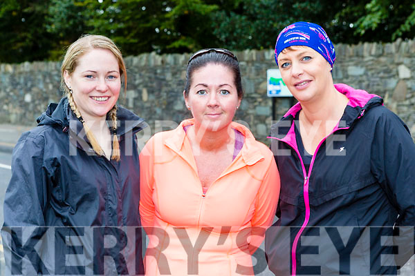 Kilflynn kittens Katie O'Connell, Triona Hussey and Mary Moloney at the Killarney Women's mini-marathon on Saturday