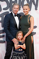 Natasha Poly, Peter Bakker and Aleksandra Bakker attend Fashion for Relief Cannes 2018 during the 71st annual Cannes Film Festival at Aeroport Cannes Mandelieu on May 13, 2018 in Cannes, France.<br /> CAP/GOL<br /> &copy;GOL/Capital Pictures