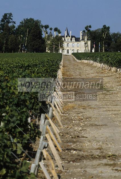 Europe/France/Aquitaine/Gironde/Pauillac : AOC Médoc-Pauillac - Château Pichon Longueville Comtesse de Lalande