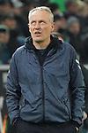 15.03.2019, Borussia Park , Moenchengladbach, GER, 1. FBL,  Borussia Moenchengladbach vs. SC Freiburg,<br />  <br /> DFL regulations prohibit any use of photographs as image sequences and/or quasi-video<br /> <br /> im Bild / picture shows: <br /> Christian Streich Trainer/Headcoach (SC Freiburg), ratlos ??<br /> <br /> Foto © nordphoto / Meuter