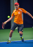 Hilversum, The Netherlands, March 10, 2016,  Tulip Tennis Center, NOVK, Frank van Lerven (NED)<br /> Photo: Tennisimages/Henk Koster