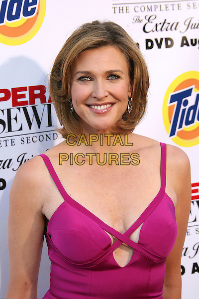 "BRENDA STRONG.Desperate Housewives: Extra Juicy Edition Season 2 DVD Launch Event: Arrivals held on ""Wysteria Lane"", Universal City, California, USA..August 5th, 2006.Photo: Zach Lipp/AdMedia/Capital Pictures.Ref: ADM/ZL.headshot portrait pink.www.capitalpictures.com.sales@capitalpictures.com.©Zach Lipp/AdMedia/Capital Pictures."