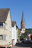 Kirche St.Peter in Großheubach am Main, Bayern, Deutschland