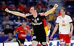 Nach 167 L&auml;nderspielen mit 576 Toren beendet Holger Glandorf seine Karriere in der deutschen Handball-Nationalmannschaft. Der 31-j&auml;hrige Linksh&auml;nder war 2007 Weltmeister und gewann im Juni mit der SG Flensburg-Handewitt die Champions League<br /> Archiv aus: <br />  Holger Glandorf celebrate goal during main round, group 1, men`s EHF EURO 2012 championship handball game between Denmark and Germany in Belgrade, Serbia, Monday, January 23, 2011.  <br /> Foto &copy; nph /  Pedja Milosavljevic