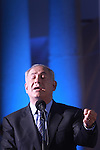 Israel Prime Minister Benjamin Netanyahu, attends the graduation ceremony of the College of National Security, at the Hebrew University in Jerusalem, Israel, July 28th, 2009. Photo By : Emil Salman / JINI..**ISRAEL OUT.