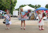 MEGAN DAVIS MCDONALD COUNTY PRESS/Winners of the 2018 Little Miss Strawberry Pageant in the 3-5 years division were, from left to right, Paisley Cornell, first place; Quincy Morgan, second place; and Swayzie Hines, third place.