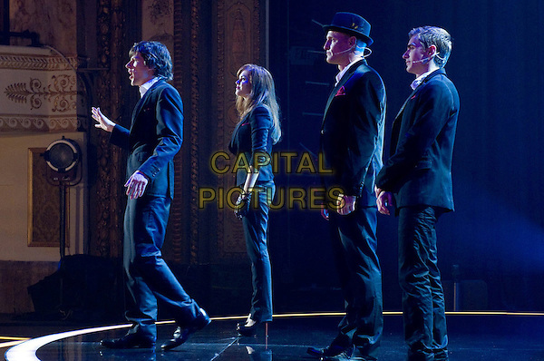 JESSE EISENBERG, ISLA FISHER, WOODY HARRELSON &amp; DAVE FRANCO<br /> in Now You See Me (2013) <br /> *Filmstill - Editorial Use Only*<br /> CAP/FB<br /> Supplied by Capital Pictures