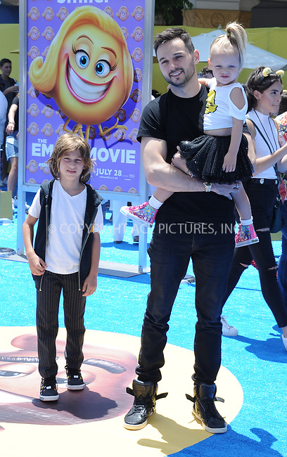 www.acepixs.com<br /> <br /> July 23 2017, LA<br /> <br /> Matthew Rutler arriving at the premiere of 'The Emoji Movie' at the Regency Village Theatre on July 23, 2017 in Westwood, California. <br /> <br /> By Line: Peter West/ACE Pictures<br /> <br /> <br /> ACE Pictures Inc<br /> Tel: 6467670430<br /> Email: info@acepixs.com<br /> www.acepixs.com