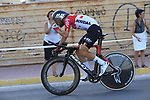 Thomas De Gendt (BEL) Lotto-Soudal in action during Stage 1 of La Vuelta 2019, a team time trial running 13.4km from Salinas de Torrevieja to Torrevieja, Spain. 24th August 2019.<br /> Picture: Eoin Clarke | Cyclefile<br /> <br /> All photos usage must carry mandatory copyright credit (© Cyclefile | Eoin Clarke)