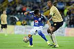 Millonarios venció 2-0 a Águilas Doradas en el Campín de Bogotá, en duelo de la fecha 9 del Torneo Clausura Colombiano 2015.