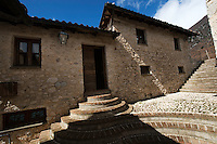 Houses under renovation to become wonderful nature tourism B&B, Central Apennines, Italy