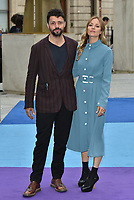 Conrad Shawcross and Carolina Mazzolari<br /> at the Royal Academy of Arts Summer exhibition preview at Royal Academy of Arts on June 04, 2019 in London, England.<br /> CAP/PL<br /> ©Phil Loftus/Capital Pictures