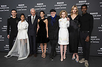"Sergei Polunin, Misty Copeland, Marco Tronchetti Provera (Pirelli's President), Laetitia Casta, Albert Watson, Julia Garner, Astrid eika, Calvin Royal II attend the official presentation of the Presentation of the Pirelli Calendar 2018 ""The cal"" held at the Pirelli headquarter. Milan (Italy) on december 5, 2018. Credit: Action Press/MediaPunch ***FOR USA ONLY***"