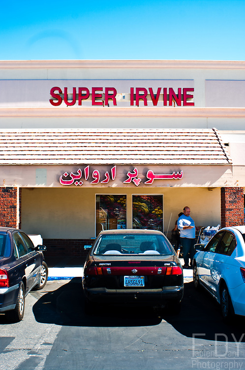 Iranian supermarket in Irvine, California.