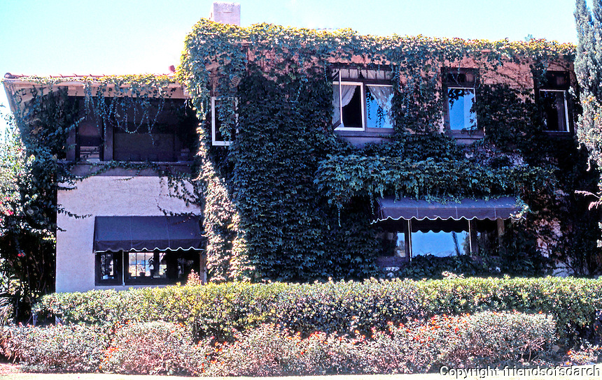 Irving Gill: Katherine Teats Cottage #1. 3560 7th Ave., San Diego. Photo '78.