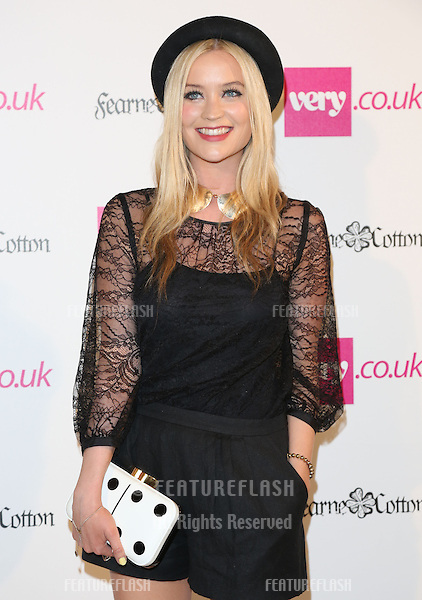 Laura Whitmore arriving for  Spring/Summer 2013 Very.co.uk fashion launch, London. 13/09/2012 Picture by: Henry Harris / Featureflash..