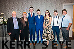 Kilgarvan GAA Social at the Kenmare Bay Hotel on Friday 4th Jan L-R: Bob & Joan Purcell, Patie Murphy, Dion Murphy, Joann Murphy, Corey Murphy, Pat Murphy