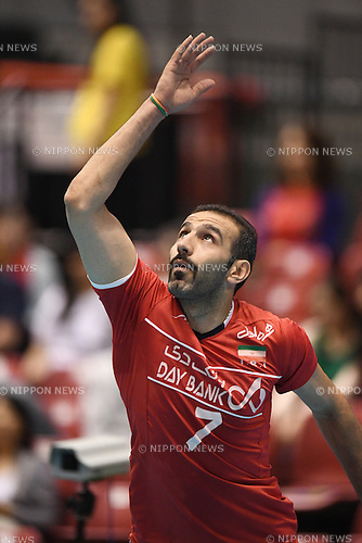 Zarini Hamzeh (IRI), <br /> JUNE 2, 2016 - Volleyball :<br /> Men's Volleyball World Final Qualification for the Rio de Janeiro Olympics 2016<br /> match between Iran 3-2 China<br /> at Tokyo Metropolitan Gymnasium, Tokyo, Japan.<br /> (Photo by AFLO SPORT)